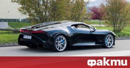 След като през 2019 година видяхме Bugatti La Voiture Noire