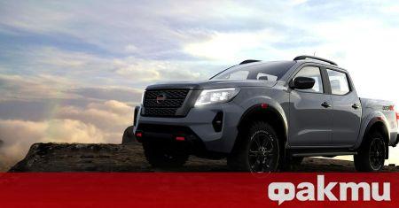 Nissan показа обновена версия на пикапа Navara, която ще замени