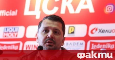 Треньорът на ЦСКА Милош Крушчич коментира победата на тима с