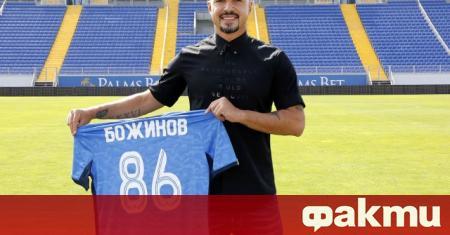 Левски подписа договор с нападателя Валери Божинов. Опитният футболист парафира