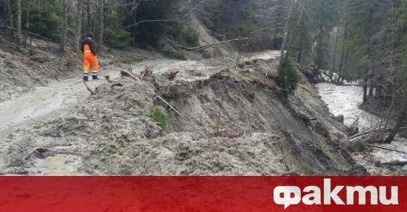 Частично бедствено положение е обявено в община Доспат заради наводнение
