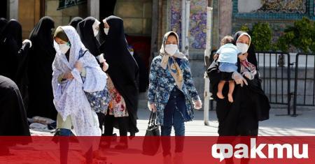 Иран съобщи днес, че е установил близо 3000 нови инфекции
