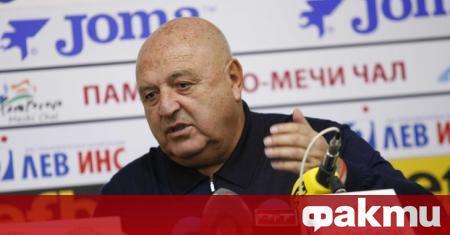 Президентът на Славия - Венци Стефанов, се изказа не особено