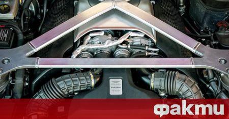 Aston Martin вярва в бъдещето на автомобилите с двигатели с