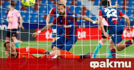 Равенството 3:3 с Барселона повдигна настроението в Леванте, който със