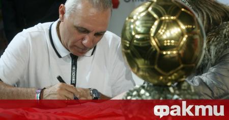 Легендарният български футболист Христо Стоичков посочи кой може да бъде