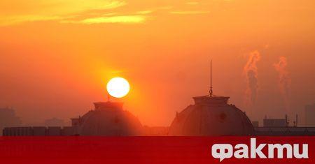 Според европейската система за въздуха и тази сутрин в София