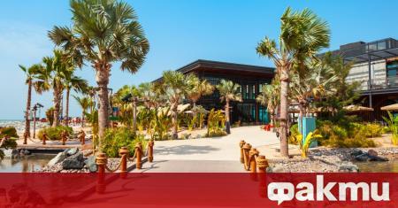 Известният изкуствен остров The Palm Jumeirah има нова придобивка, която
