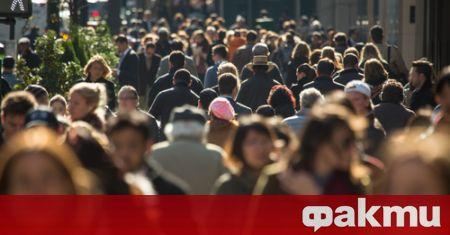 Към 31 декември 2020г. населението на България е 6 916