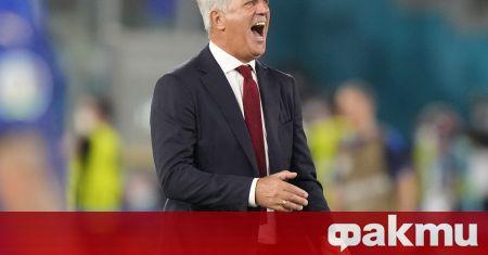 Селекционерът на Швейцария Владимир Петкович обяви след загубата от Италия,