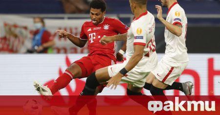 Една от звездите на Байерн Мюнхен Серж Гнабри прекрати почивката