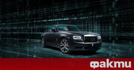 Компанията Rolls-Royce пусна нова ексклузивна версия на купето Wraith, в