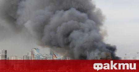 Според предварителни данни причина за огромния пожар, който избухна вчера