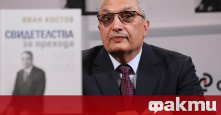 Иван Костов прогнозира висока вероятност от политическа криза преди редовните