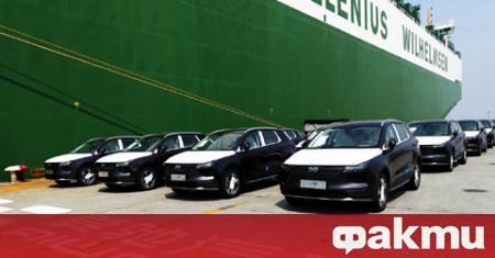 Китайският производител Aiways започна доставки на електромобили за Европа. Първият