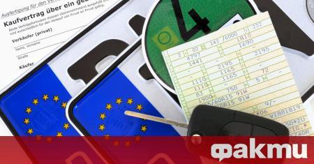 Германският автопазар регистрира спад от 35 процента през първата половина