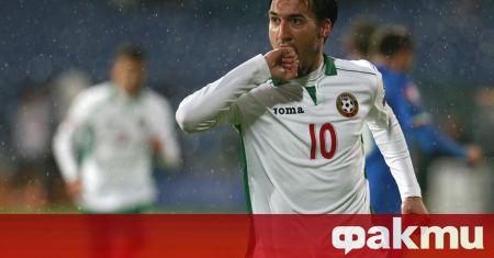 Бившият капитан на българския национален отбор по футбол - Ивелин