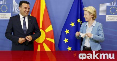 Насърчаваме България и Република Северна Македония да решат откритите въпроси,