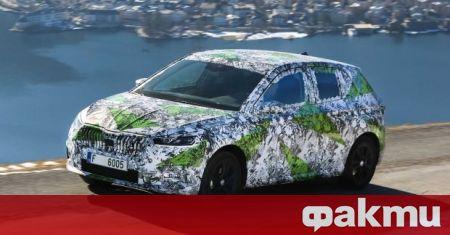 Новата Skdoa Fabia ще получи избор от пет бензинови двигателя.
