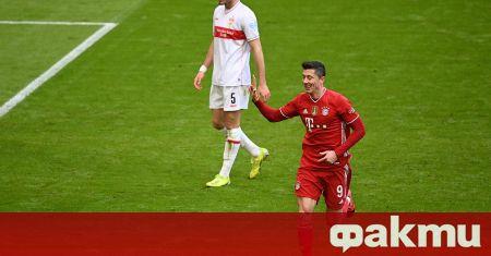 Звездата на немския шампион Байерн Мюнхен Роберт Левандовски поднови тренировки
