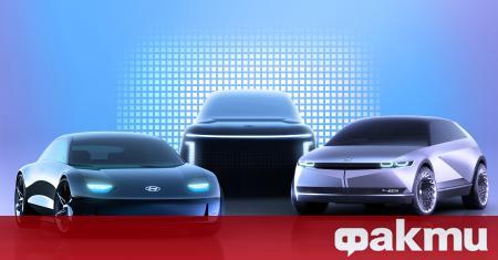 Под марката IONIQ, Hyundai Motor планира да представи три нови