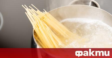 Водата, в която сте варили любимите си спагети, може да