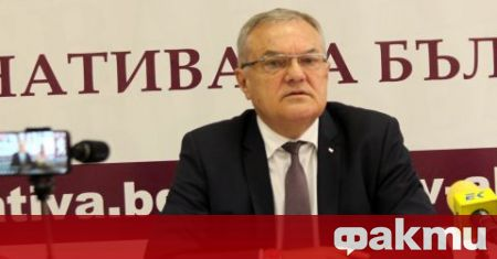 Лидерът на АБВ Румен Петков, който е и бивш вътрешен