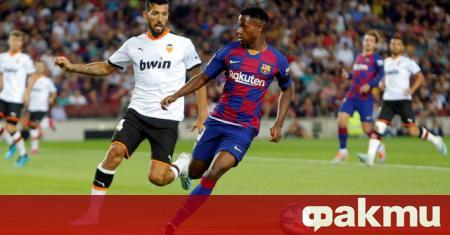 От днес младият талант на Барселона Ансу Фати официално е