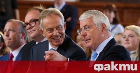 Бившите британски премиери Тони Блеър и Джон Мейджър призоваха парламента