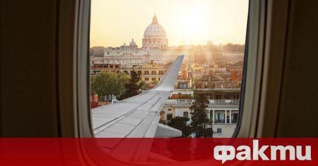Първите пътници от Европа започнаха да пристигат в Италия, след
