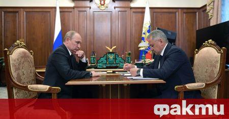 Руският министър на отбраната Сергей Шойгу потвърди за прехвърляне на