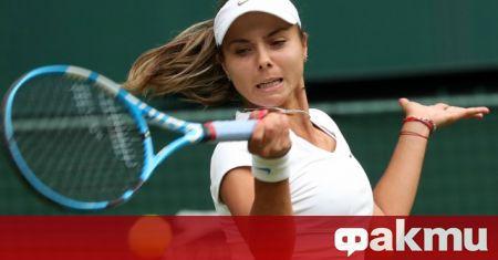 Виктория Томова отпадна в първия кръг на турнира на WTA