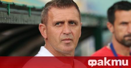 Треньорът на Локомотив (Пловдив) Бруно Акрапович говори по повод днешния
