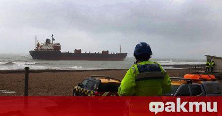 Руски товарен кораб е потънал в Черно море, съобщи ТАСС.