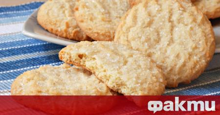 Тези меки захарни бисквити са не само много вкусни, но