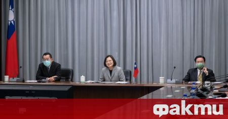 Президентът на Република Китай Цай Ин-уен и посланикът на САЩ