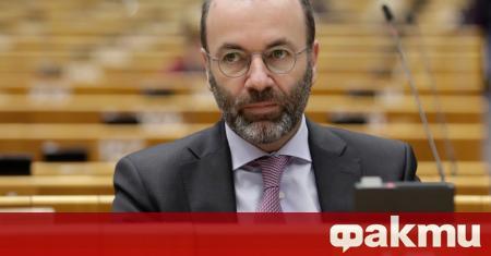 Лидерът на най-голямата парламентарна група в Европейския парламент поиска налагането