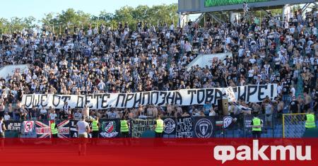 Еуфорията, предизвикана от привържениците на Локомотив Пловдив след триумфа срещу