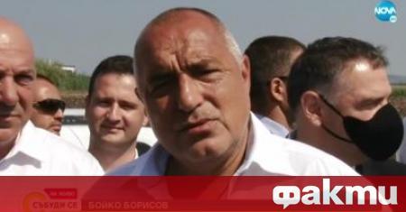 Премиерът Бойко Борисов откри обходния път на Поморие. Това е