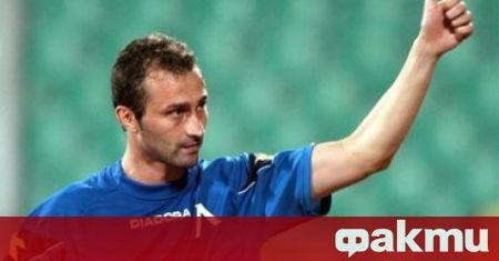 """Бившият защитник на Левски Илиан Стоянов подкрепи кампанията на """"сините"""""""