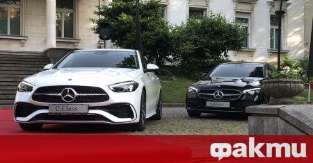 На стилна церемония в столицата, вносителят на Mercedes-Benz у нас