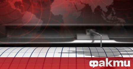 Земетресение с магнитуд 3.7 бе регистрирано днес в Егейско море,