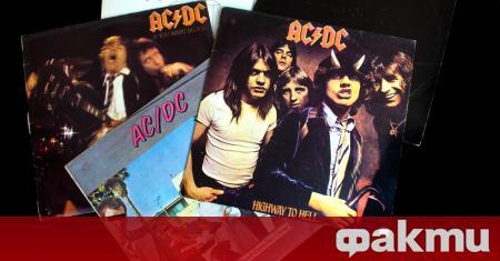 Известната рок група AC/DC, която направи фурор на световната сцена