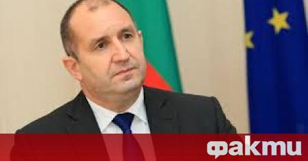 По искане на президента Румен Радев днес трябва да се