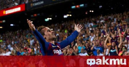 Антоан Гризман е решен да остане в Барселона, твърди френското