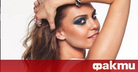 Красивата турска актриса Аслъ Енвер, която се прочу у нас