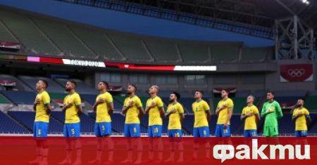 Бразилия е първият финалист на олимпийския турнир по футбол.