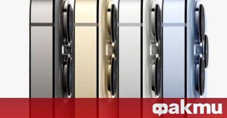 На 14 септември от Apple представиха едни от най-дългоочакваните смартфони