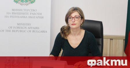 Вицепремиерът и министър на външните работи Екатерина Захариева подчерта нарастващото