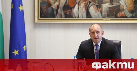 Президентът Румен Радев призова медиите за сдържаност и избягване на